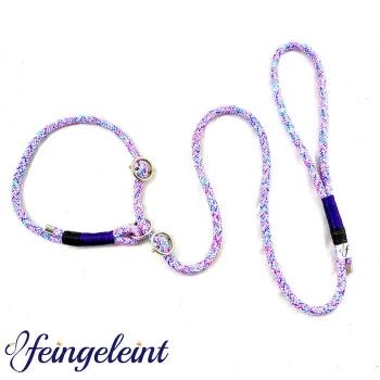 Moxonleine/Retrieverleine aus Tau  'Purple Dream', 130cm