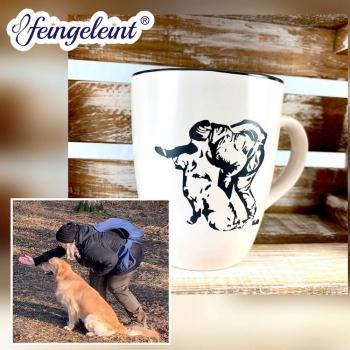 Individuelle Tasse | Kaffeetasse | Keramik-Becher mit eigenem Bild oder Logo