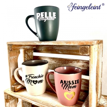 Individuelle Tasse | Kaffeebecher | Keramik Becher mit Wunsch Motiv