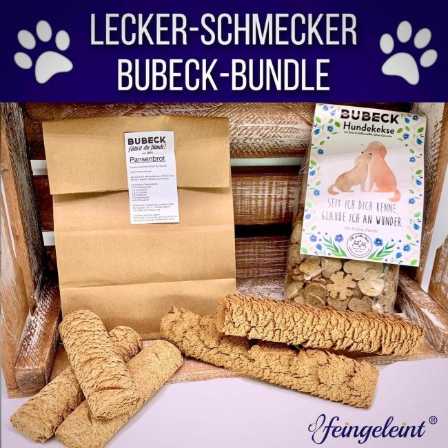 Lecker-Schmecker Bubeck-Bundle | Leckerli-Paket mit Bubeck Hundekeksen und Hundekuchen